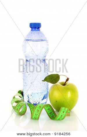 Healthy Living Requires Water, Fruits And Exercise