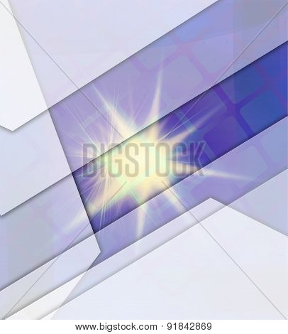 Abstract burst light background