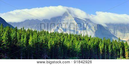 High Alpine Landscape On The Grinnell Glacier Trail, Glacier National Park, Montana