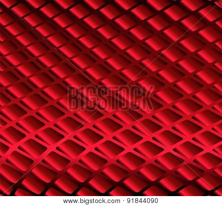 Grid red background
