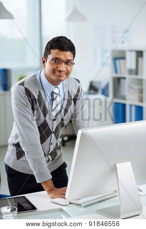 Indian manager
