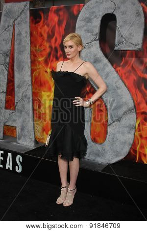 LOS ANGELES - MAY 26:  Alice Evans at the