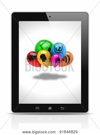 Tablet Pc Cloud Computing Service