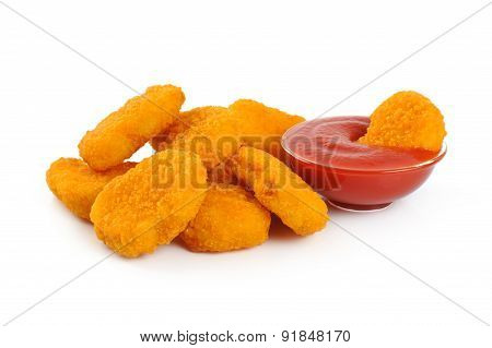 Nuggets and ketchup