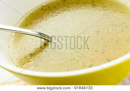 Chicken Bouillon, Broth, Clear Soup