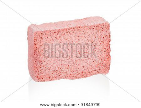 Simple Sponge Isolated On White