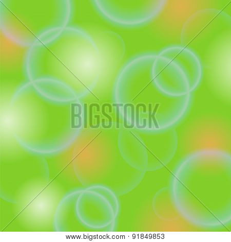 Bubble Green Background