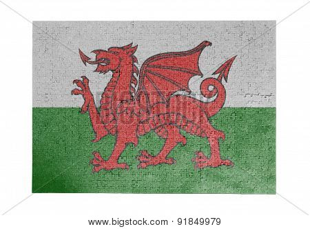 Large Jigsaw Puzzle Of 1000 Pieces - Wales