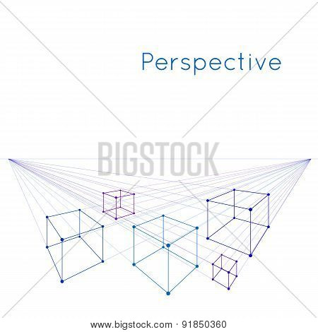 Cubes in perspective