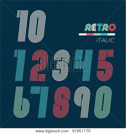 Retro Fun Numbers
