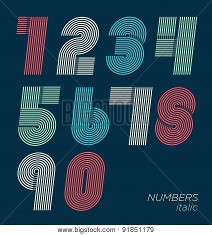 Retro Fun Numbers