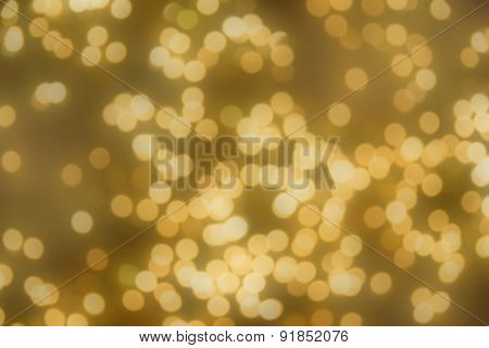 Abstract Blurred Bokeh For Background