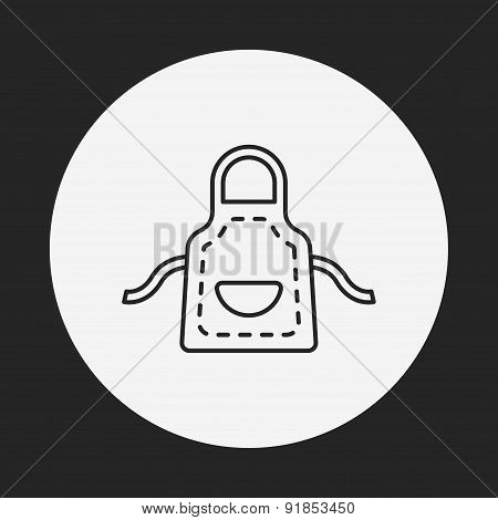 Apron Line Icon