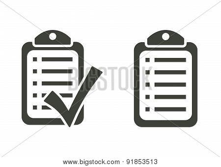 Checklist - Vector Icons
