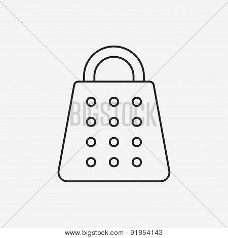Peeler Line Icon