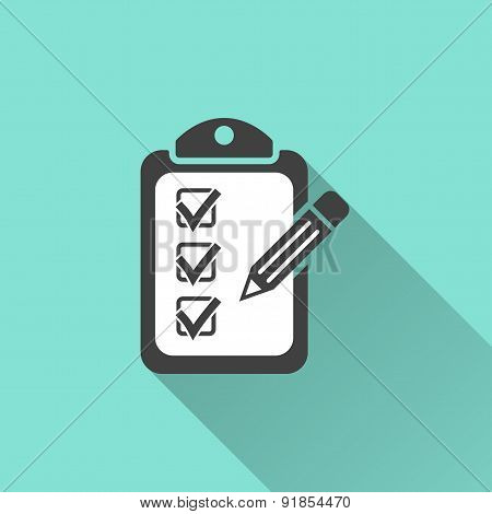 Clipboard Pencil Icon