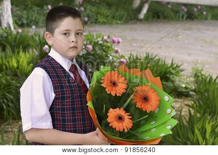 The Boy With Flowers Goes To School, The Last Call