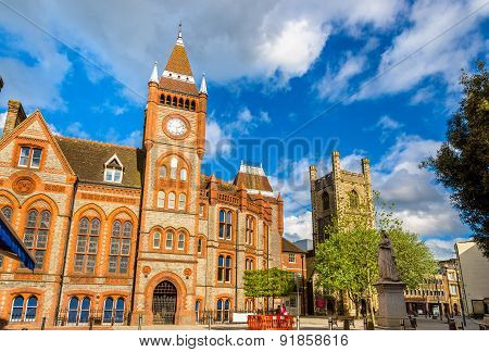 Town Hall Of Reading - England, United Kingdom