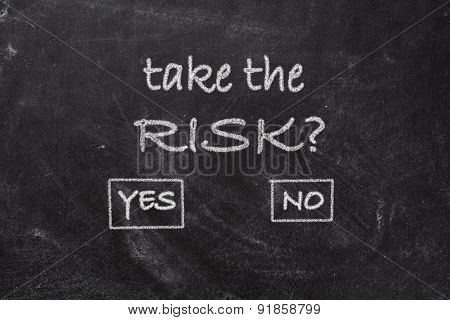 Blackboard - Take The Risk