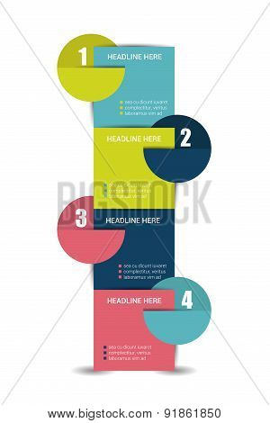 Four Steps Template.