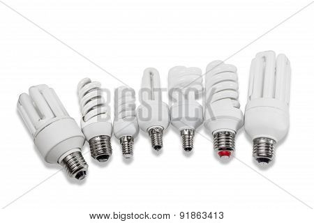 Various Energy-saving Fluorescent Lamps