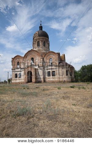 Thrown Orthodox Temple.