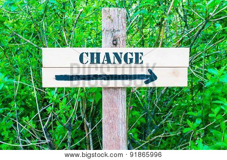 Change Directional Sign
