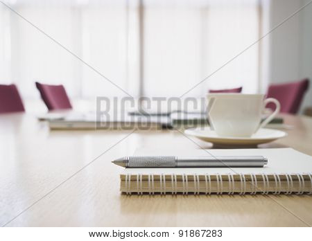 Meeting Room Interior Business Concept