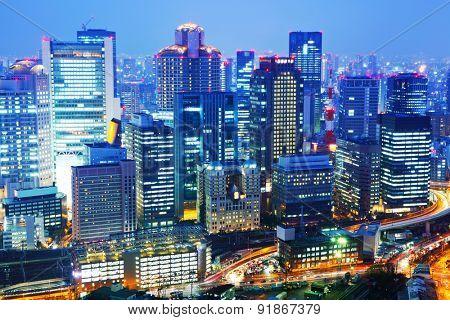 Umeda in Osaka