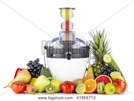 Fruits and Vegetables for Juice