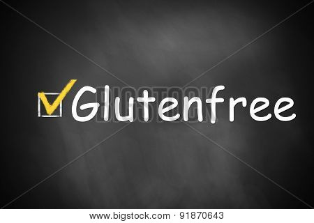 Chalkboard Checkbox Checked Glutenfree