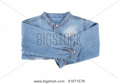 Blue Denim Child Shirt