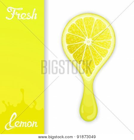 Lemon crush juice