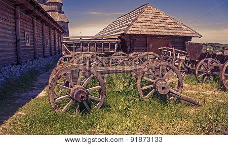 Wooden Carts
