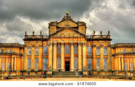 View Of Blenheim Palace - Oxfordshire, England