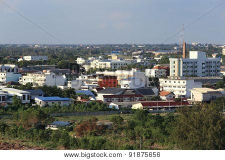 Nakhon Ratchasima Cityscape, Thailand