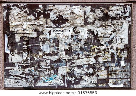 Old Bulletin Board