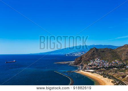 Santa Cruz City And Beach Las Teresitas
