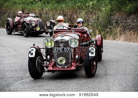 old car AGONDA  LG 45 S3 Team Car  1936   mille miglia 2015