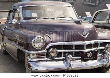 Retro car Cadillac S62 1950 release