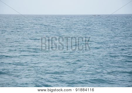 Two Boats Sailing in the Andaman Sea