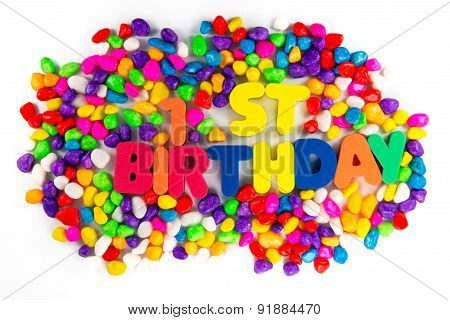 Happy First Birthday Words