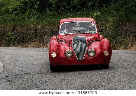 old car HEALEY 2400 Elliott 1947  mille miglia 2015