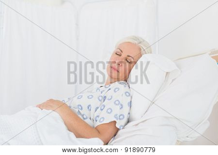 a patient waiting for a doctor in the examination room