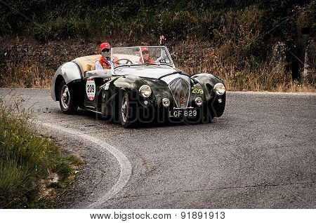 old car HEALEY 2400 Westland 1950  mille miglia 2015