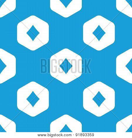 Diamonds hexagon pattern