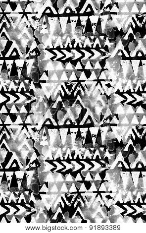Seamless Tribal Pattern.