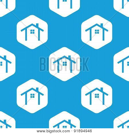 Cottage hexagon pattern