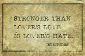 picture of hate  - Stronger than lover - JPG