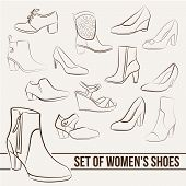 picture of ankle shoes  - Set in the of women - JPG